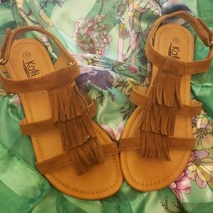 New Suede Sandals